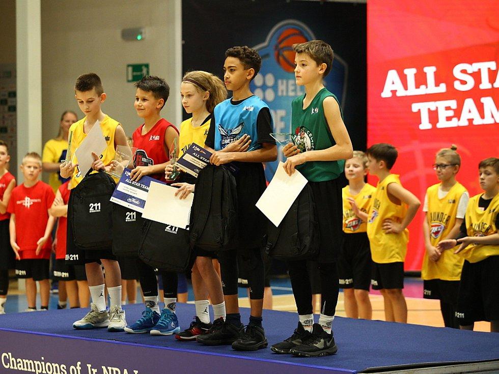 Ze čtvrtého ročníku turnaje junior NBA,