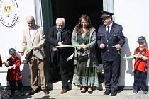 Slavnostní otevření Spolkového domu v Přední Lhotě