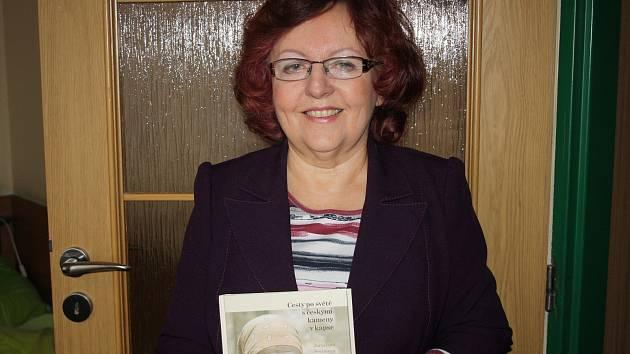 Spisovatelka Jaroslava Šrejmová.