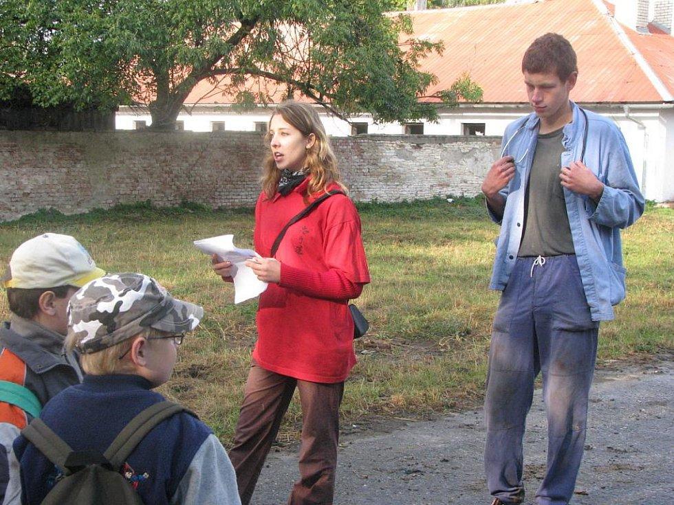 Střední odborná škola v Poděbradech - bývalá zemědělka - uspořádala pro děti Den zvířat.
