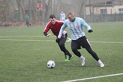 Z přípravného fotbalového utkání Bohemia Poděbrady - Polaban Nymburk (0:4)