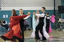 Taneční soutěž v Nymburce