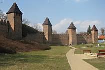 Hradby v Nymburce.