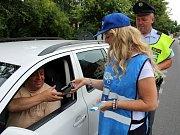 ŘÍDÍM, PIJU  NEALKO.  To je název už tradiční akce, kterou policisté ve spolupráci se sdružením BESIP  pořádají několikrát ročně po celé republice.