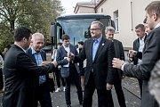 Politická debata lídrů politických stran ve Středočeském kraji organizovaná Deníkem proběhla 4. října ve Všetatech.