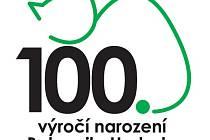 Logo, které bude v Nymburce provázet Hrabalovy oslavy 100. výročí narození