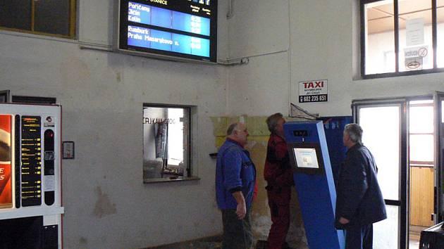 Nymburské nádraží mění tvář