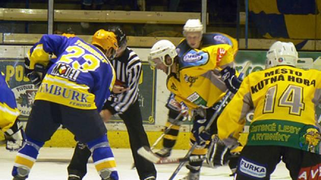Hokejisté Nymburka vyhráli i druhá zápas v letošní sezoně. Doma porazili Kutnou Horu 3:2.