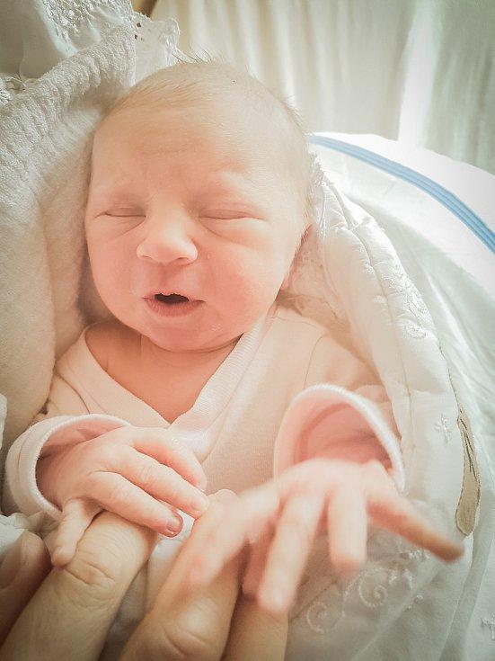 Josefína Trpišovská, Kolín. Narodila se 27. března 2020 v 8.29 hodin v nymburské porodnici, vážila 2620 g a měřila 45 cm. Z holčičky se raduje maminka Veronika, tatínek Josef a sestry Nela a Nina.
