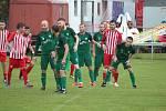 Z divizního fotbalového utkání Kutná Hora - Polaban Nymburk