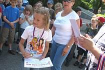 """Den zdravých dětí před """"Kokosem"""" v Nymburce"""