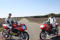 Rozhovor s motocyklovým jezdcem Petrem Hulínem