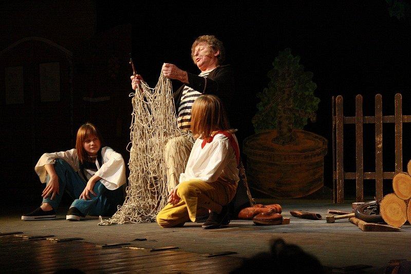 Z představení Jája, Pája a Utřifous