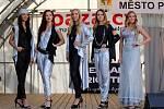 Z představení Miss 2019 na poděbradské kolonádě.