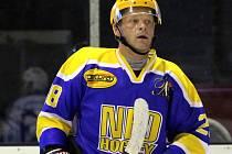 STŘELEC. Zkušený nymburský hokejista Lukáš Král dal v posledním zápase na ledě Tábora tři branky