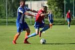 Z fotbalového utkání I.B třídy Škvorec - Pátek (4:4, PK 3:4)