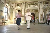 Částečně zrekonstruovaný zámeček Bon Repos mohla v sobotu navšívit široká veřejnost.