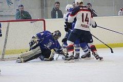 Hokejisté Poděbrad si pořádně zastříleli, Kralupům doma nasázeli třináct gólů