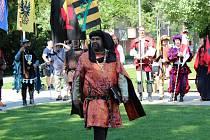 Už tradičně, po více než pěti stech letech, přichází mezi obyvatele lázeňského města český král Jiří z Poděbrad, aby pozdravil své poddané.