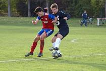 Z fotbalového utkání I.B třídy Městec Králové  - Slovan Poděbrady (0:1)