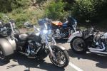 Středočeští starostové vyrazili po kraji den před vypuknutím oslav 115. výročí značky Harley-Davidson. Z pražského výstaviště v Holešovicích se vydali na hrad Karlštejn, odsud na Slapy a do Benešova, pak na zámek Konopiště.