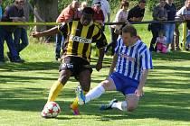 Divizní fotbalové derby Litol - Čelákovice skončilo dělbou bodů (3:3)