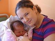 KATEŘINA HOSTAŠOVÁ se narodila 19. března 2018 v 0.49 hodin s délkou 51 cm a váhou 4 150 g. Na prvorozenou holčičku se už předem těšili rodiče Jiřina a Petr z Milovic.