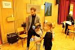 Ze zábavně vzdělávacího programu v Domě dětí a mládeže Symfonie v Poděbradech.