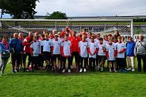 Výprava. Žáci poděbradské Bohemie startovali na mezinárodním turnaji v Nantes