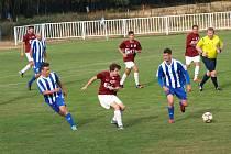 Fotbalisté Bohemie Poděbrady prohráli 0:3 v Novém Strašecí.