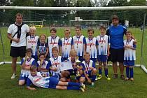 FOTBALOVÝ POTĚR poděbradské Bohemie se stal vítězem turnaje O pohár starosty města Nymburka, jehož se zúčastnili vítězové jednotlivých skupin