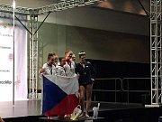 Dominika Martínková a Viktorie Dušánková se staly mistryněmi světa v pole dance.