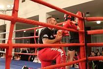 Skvělá show. Poděbradský oddíl boxu v čele s Danielem Venclem (vlevo) pořádá opět galavečer boxu