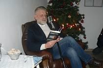 Spisovatel Josef Formánek v Poděbradech.