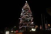 2. místo - Vánoční strom v Milovicích