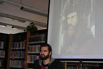 Jonáš Ledecký kreslí skvělé komiksy. Ten poslední je o Karlu IV.
