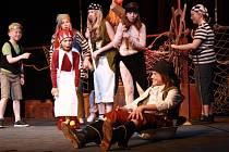 Z pohádky Tajemství zlatého rouna v Hálkově divadle