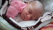 VIKTORIE JELINKOVÁ se narodila 2. listopadu 2018 ve 13.23 hodin. Doma v Milovicích se na ní těší sourozenci Pavlík a Verunka.
