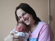 JAROSLAV BOUBÍN se narodil 12. listopadu 2018 v 5:45 hodin s délkou 51 cm a váhou 3 800g. Rodiče Lucie a Josef z Vápenska se na prvorozeného chlapečka předem těšili.
