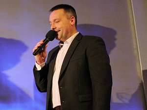 Moderátor Radek Šilhan