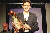 Vítěz mezi mládežníky. Atlet nymburského SKP Nymburk Ondřej Hodboď byl jedním z oceněných sportovců. Mezi jednotlivci mládeže vyhrál.
