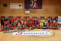 VOLEJBALOVÝ KLUB v Nymburce má širokou základnu dětí. A vedení oddílu počítá s navýšením počtu mladých sportovců.