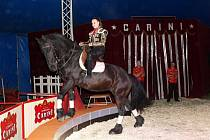Premiéra cirkusu Carini