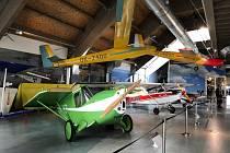 Letecké muzeum Metoděje Vlacha v Mladé Boleslavi.