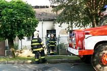 Při požáru domu v Lysé uhořel muž