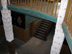 Interiér kubistické vily u bývalého cukrovaru v Lysé nad Labem - Litoli.