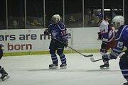 Z hokejového utkání druhé ligy Nymburk - Kolín (2:0)