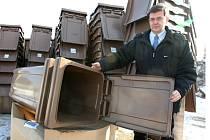 Hnědé kontejnery na bioodpad má už padesát domácností v Nymburce.