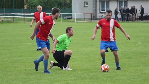 Fotbalisté Pátku sehráli přátelský zápas s celkem Kostomlat