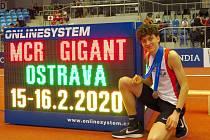 Zlaté loučení. Nymburský atlet Ondřej Hodboď vybojoval svou poslední zlatou medaili mezi mládežníky